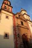 Iglesia colonial en México 2 Imagen de archivo libre de regalías