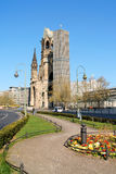 Iglesia conmemorativa de Kaiser Wilhelm en Berlín, Alemania Fotos de archivo libres de regalías