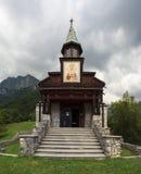 Iglesia conmemorativa del Espíritu Santo, Javorca eslovenia Imagenes de archivo