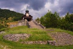 Iglesia conmemorativa del Espíritu Santo, Javorca eslovenia Imagen de archivo