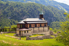 Iglesia conmemorativa del Espíritu Santo, Javorca eslovenia Fotos de archivo libres de regalías