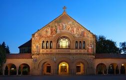 Iglesia conmemorativa en Stanford imágenes de archivo libres de regalías