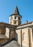 Iglesia Conques Fotografía de archivo libre de regalías