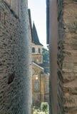 Iglesia Conques Imagen de archivo