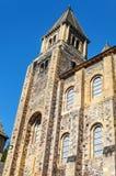 Iglesia Conques Foto de archivo