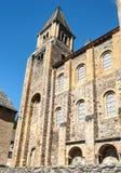 Iglesia Conques Imagen de archivo libre de regalías