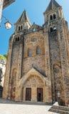 Iglesia Conques Foto de archivo libre de regalías