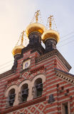 Iglesia Copenhague de Othodox Imagen de archivo libre de regalías