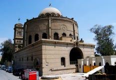 Iglesia copta colgante en El Cairo Imágenes de archivo libres de regalías