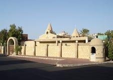 Iglesia copta en Hurghada Fotos de archivo