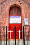 Iglesia cristiana Fotos de archivo libres de regalías