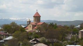 Iglesia cristiana en Georgia almacen de video