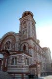 Iglesia cristiana en Nea Kalikratea, Grecia Imagen de archivo libre de regalías