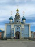 Iglesia cristiana ortodoxa Imágenes de archivo libres de regalías