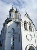 Iglesia cristiana ortodoxa en Rusia Foto de archivo libre de regalías