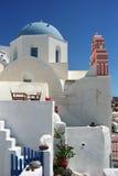 Iglesia cristiana ortodoxa griega Foto de archivo libre de regalías