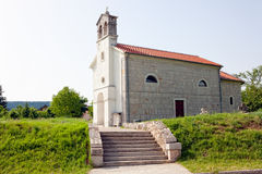Iglesia croata vieja Fotografía de archivo libre de regalías