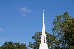 Iglesia/cruz Fotos de archivo libres de regalías