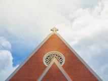 Iglesia cruzada fotos de archivo libres de regalías