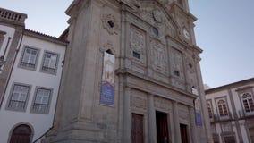 Iglesia cruzada santa en Braga