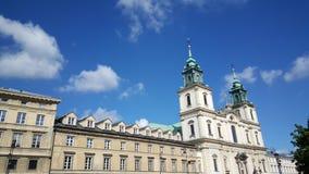 Iglesia cruzada santa, Varsovia Foto de archivo libre de regalías