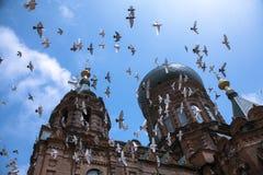 Iglesia cruzada superior Imágenes de archivo libres de regalías