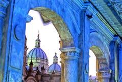 Iglesia Cuenca imagenes de archivo