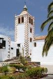 Iglesia de圣玛丽亚,贝坦库里亚,费埃特文图拉岛 库存照片
