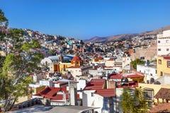 Iglesia de圣罗克市场梅尔卡多绅士瓜纳华托州墨西哥 图库摄影