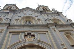Iglesia de圣阿方索,昆卡省,厄瓜多尔 库存照片