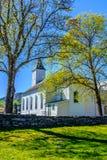 Iglesia de Øystese fotografía de archivo