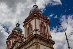 Iglesia de Σαν Φρανσίσκο de Sinincay Στοκ Φωτογραφία
