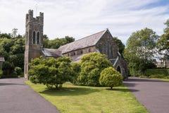 Iglesia de Abbeystrewry Foto de archivo