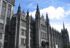Iglesia de Aberdeen, Escocia imagen de archivo