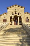 Iglesia de Agia Kyriaki Chrysopolitissa Fotografía de archivo libre de regalías