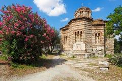 Iglesia de Agii Apostoli Solaki, Grecia Fotos de archivo libres de regalías