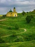 Iglesia de Alexander Nevsky en Khotyn, Ucrania Imagen de archivo libre de regalías