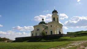 Iglesia de Alexandr Nevskiy cerca de Khotyn Forttress Fotografía de archivo