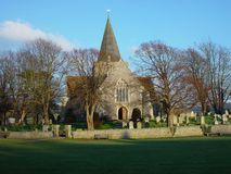 Iglesia de Alfriston, Alfriston, Sussex del este Imagen de archivo libre de regalías