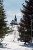 Iglesia de Apuseni Fotografía de archivo