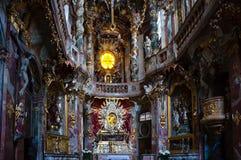 Iglesia de Asamkirche imágenes de archivo libres de regalías