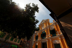 Iglesia de Asia Macao de St Dominic Foto de archivo libre de regalías
