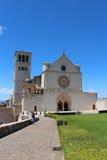 Iglesia de Assisi Foto de archivo libre de regalías