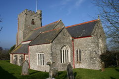 Iglesia de Axmouth Foto de archivo