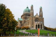 Iglesia de Basilique en Bruselas Fotografía de archivo libre de regalías