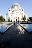 Iglesia de Belgrado Fotos de archivo libres de regalías