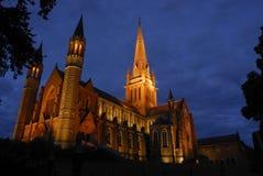 Iglesia de Bendigo Imágenes de archivo libres de regalías
