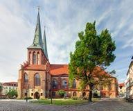 Iglesia de Berlín, San Nicolás, Alemania - Nikolaikirche imagen de archivo