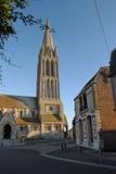 Iglesia de Bernieres-sur-MER Imagen de archivo libre de regalías