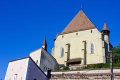 Iglesia de Biertan Foto de archivo libre de regalías